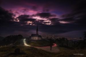 Igreja e a Chiesetta Alpina - Jaraguá do Sul - Foto Renato Machado