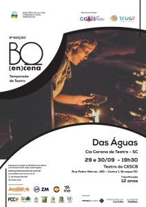espetáculo Das Águas, da Cia Carona de Teatro (SC) - Foto: Isabel Bugmann