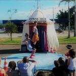 Espetáculo Pequeno Circo de Variedades, da Cia Circo-íris (SC) - Foto: Jerry Laurindo