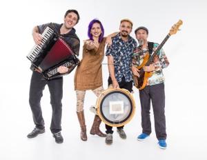 SrtaVoigt e banda - Foto: Mariana Florencio