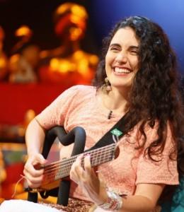 Ana Paula da Silva, cantora e compositora brasileira. Foto: Daniel Kersys