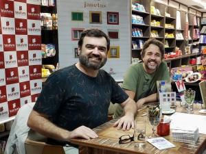 Edu Colvara e Gregory Haertel - Foto: Nane Pereira