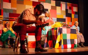 Espetáculo Um Sonho, do Detalhe Teatro (Blumenau/SC) - Foto: Leo Laps