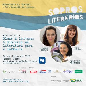 SOPROS LITERÁRIOS - Flyer Mesa Virtual